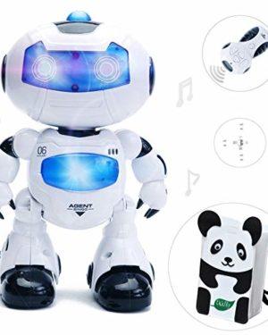 Spielzeugroboter als Weihnachtsgeschenk