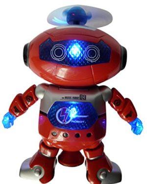 Ferngesteuerter Spielzeugroboter mit Lauffunktion